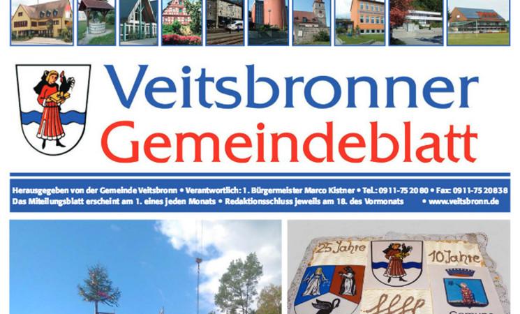 Geänderte Anzeigenschlüsse Gemeindeblatt