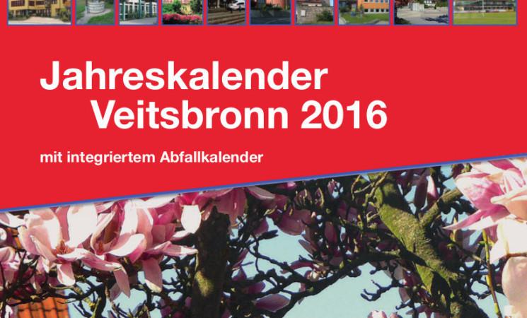 Veranstaltungskalender Veitsbronn