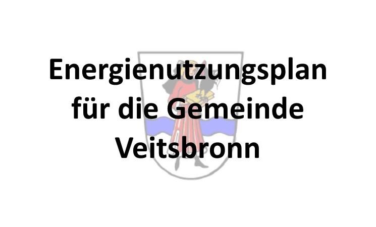 Energienutzungsplan für die Gemeinde Veitsbronn