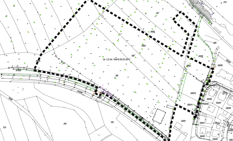 """Aufstellung des Bebauungsplanes Nr. 40 """"Heide II"""" mit gleichzeitiger 8. Änderung des Flächennutzungsplanes"""