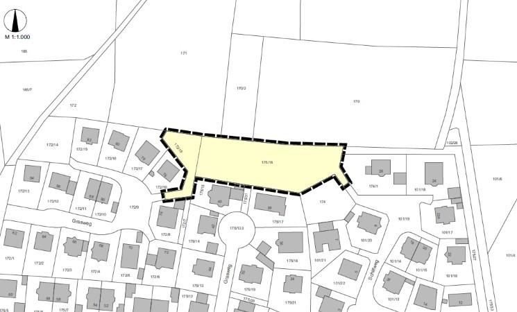 """Änderung des Bebauungsplanes Nr. 14 """"Erweiterung Grasweg"""""""