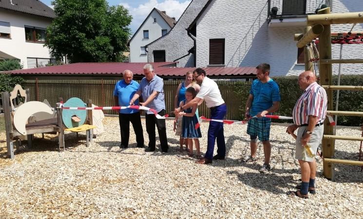 Spielplatz Gartenstraße wiedereröffnet