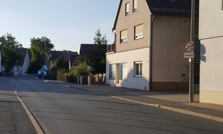 Tempo 30-Zone in der Nürnberger Straße