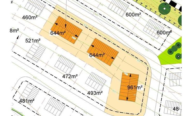 """Auslobung von Bauplätzen für Mehrfamilienhäuser im """"Allgemeinen Wohngebiet"""" des Baugebietes """"Heide II"""""""