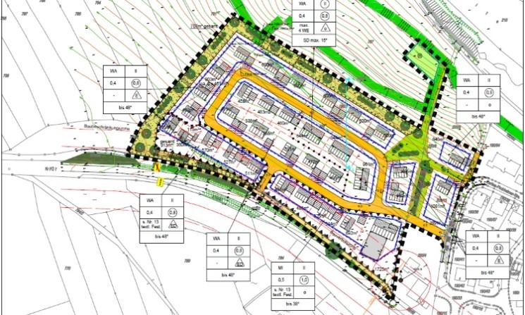 """Auslobung von Bauplätzen im Teilbereich """"Mischgebiet"""" des Baugebietes """"Heide II"""""""