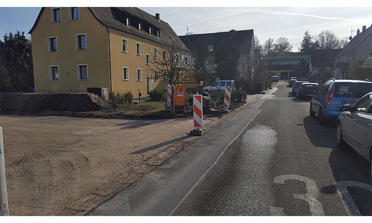 Kanalarbeiten in Bernbach gestartet