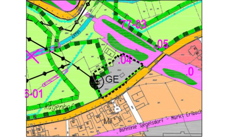 Überarbeitung der 4. Änderung des Flächennutzungsplanes und Landschaftsplanes der Gemeinde Veitsbronn
