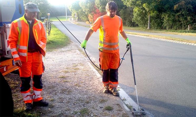Umweltschonendere Arbeitsmethoden halten flächendeckend Einzug - selbstverständlich auch im gemeindlichen Bauhof