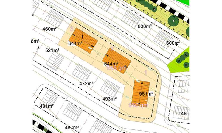 """Auslobung eines Bauplatzes zur Bebauung mit einem Mehrfamilienhaus im """"Allgemeinen Wohngebiet"""" des Baugebietes """"Heide II"""""""