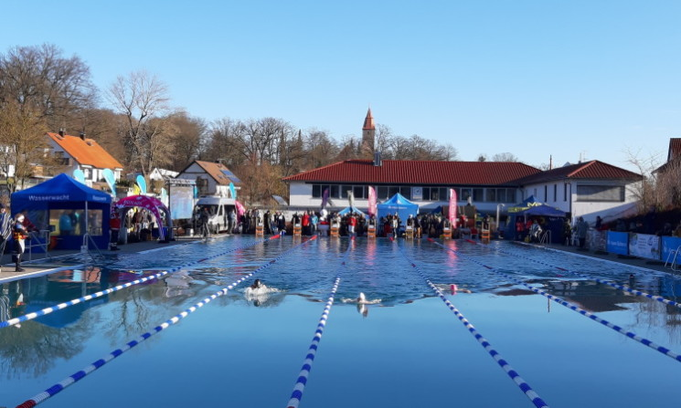 German Open im Eisschwimmen