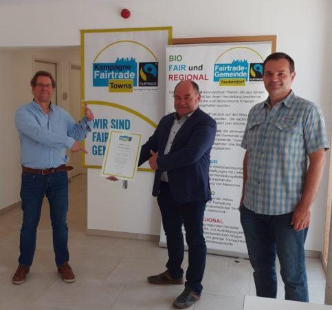 Gemeinde Seukendorf wird Fairtrade Gemeinde!