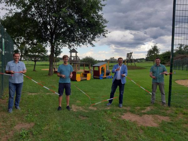 Spielplatz Raindorf freigegeben