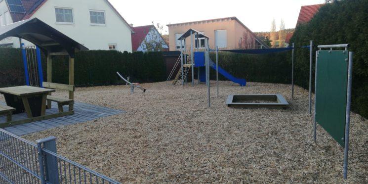 Spielplatz Winterleite neu gestaltet
