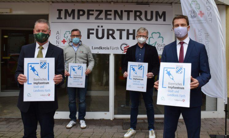 Pressemitteilung: Corona: Impfzentrum für Stadt und Landkreis Fürth betriebsbereit