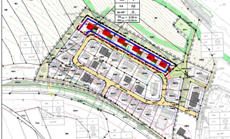 """2. Änderung des Bebauungsplanes Nr. 40 """"Heide II"""" in Veitsbronn"""