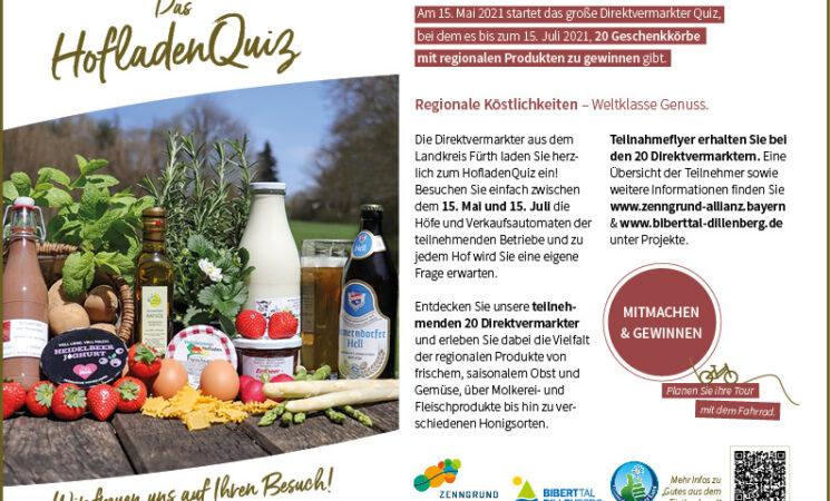 HofladenQuiz im Landkreis Fürth
