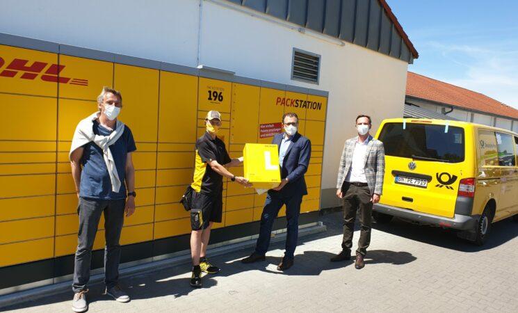 Neue Packstation in Bernbach