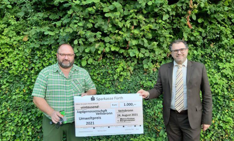 Umweltpreis 2021 an die Jagdgenossenschaft verliehen